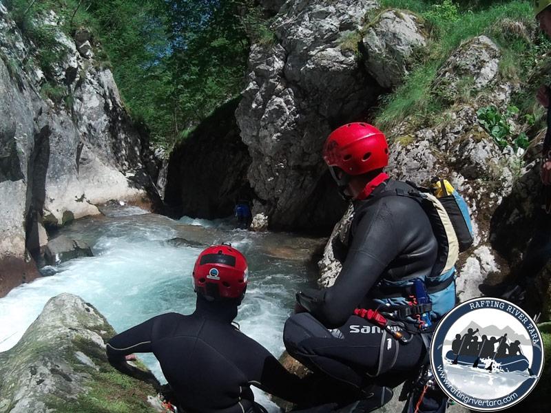 Kanjoning Tara avantura