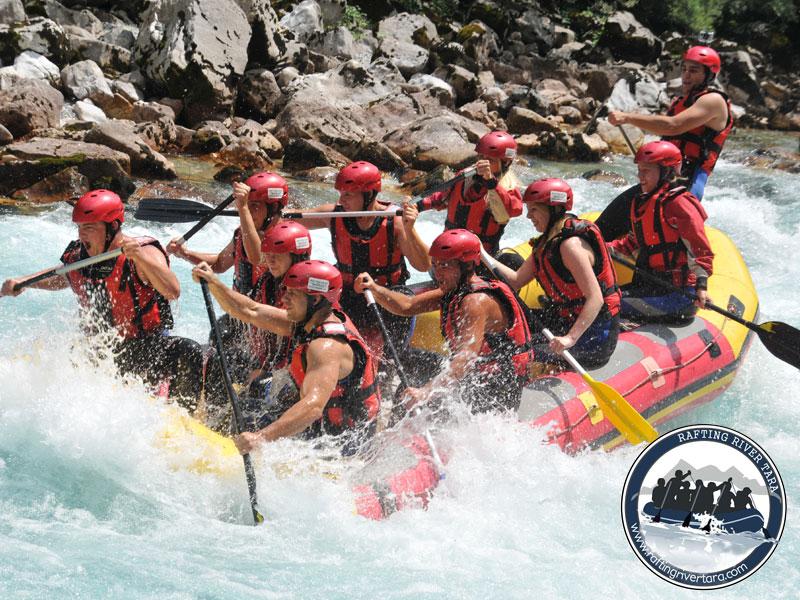 Rafting Tara adventure