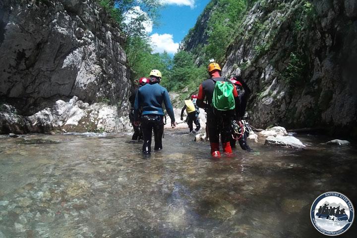Tara-kanjoning-